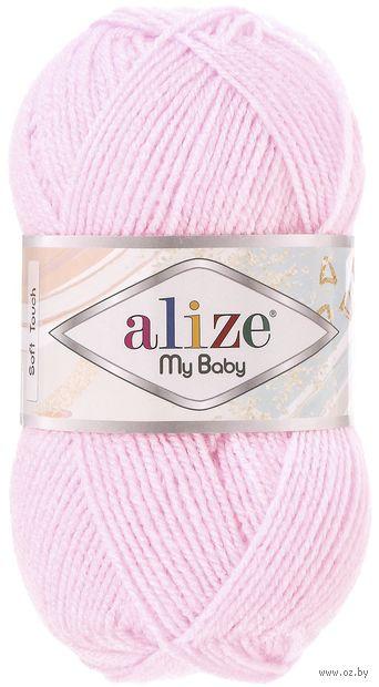 "Пряжа ""ALIZE. My Baby №185"" (50 г; 150 м; розовый) — фото, картинка"