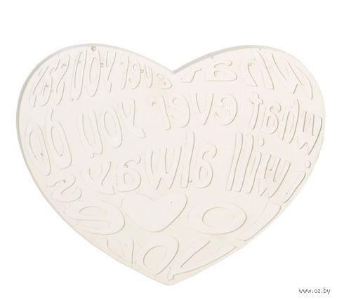 """Штамп для изготовления мыла """"Любовное сердце"""""""