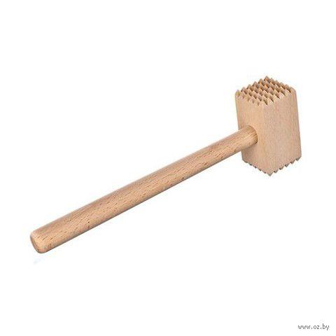 Молоток для отбивания мяса деревянный (280х80 мм)