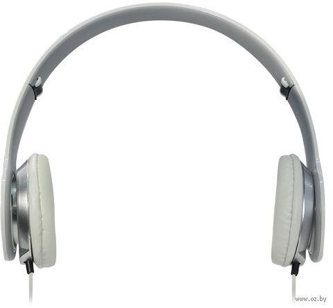 Полноразмерные наушники SmartBuy ONE, складная конструкция, плоский кабель, белые (SBE-9410) — фото, картинка