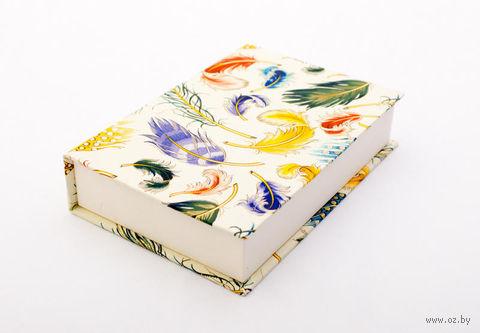 """Подарочная коробка """"Feathers"""" (10,5х16х3,5 см) — фото, картинка"""