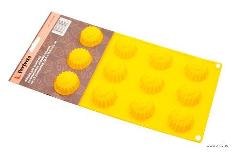 Форма для выпекания силиконовая (285х163х25 мм) — фото, картинка
