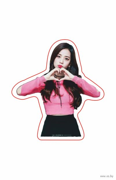 """Наклейка """"Black Pink. Jisoo"""" (арт. 10) — фото, картинка"""