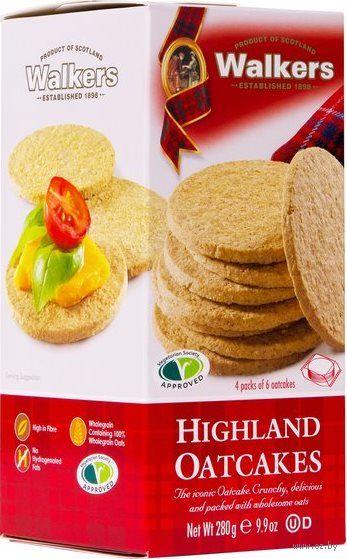 """Печенье овсяное """"Highland"""" (280 г) — фото, картинка"""