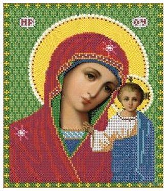 """Вышивка бисером """"Пресвятая Богородица Казанская"""" (арт. 7319М)"""