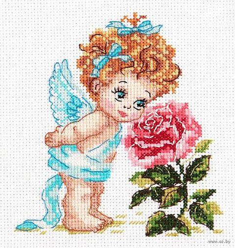 """Вышивка крестом """"Ангел нашего счастья"""""""