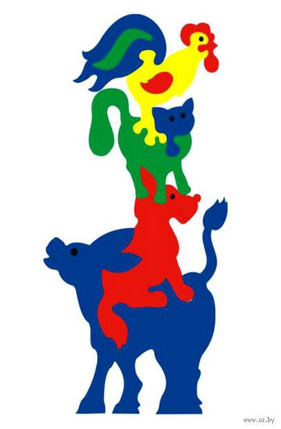 """Пазл мягкий """"Животные из сказки"""" (10 элементов) — фото, картинка"""