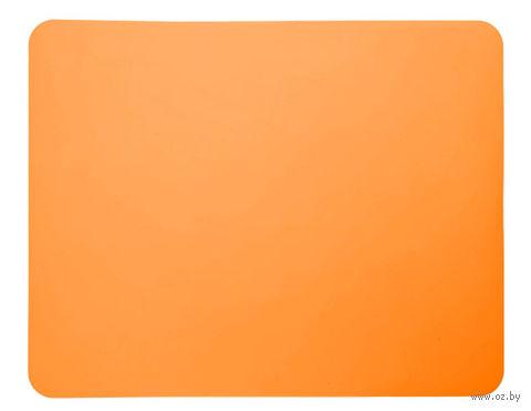 Лист для выпекания силиконовый (380x300 мм; оранжевый) — фото, картинка
