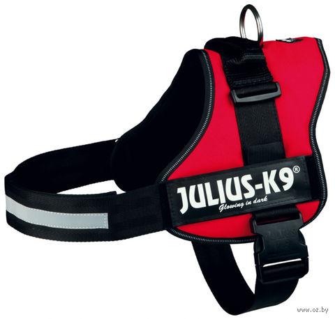 """Шлея тренировочная """"Julius-K9"""" (82-118 см; красная) — фото, картинка"""