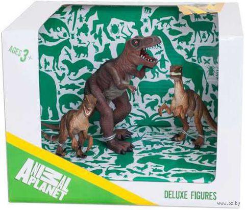 """Набор фигурок """"Animal Planet: Динозавры 2"""" (3 шт)"""