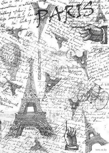 """Пленка-оверлей """"Париж"""" (210х300 мм)"""