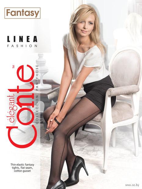 """Колготки женские фантазийные """"Conte. Linea"""""""