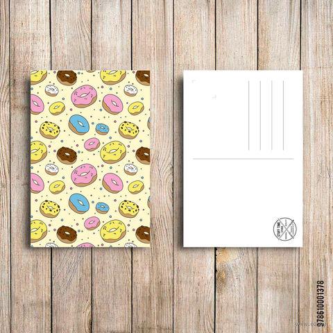 "Открытка ""Пончики"" (арт. 378) — фото, картинка"