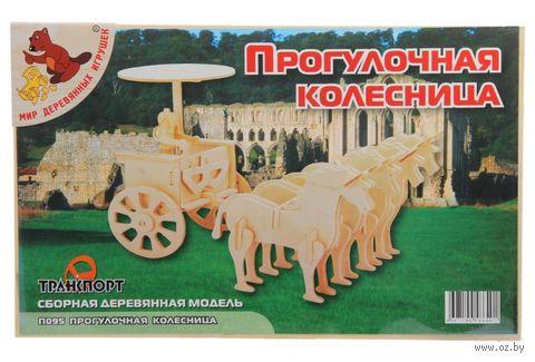 """Сборная деревянная модель """"Прогулочная колесница"""" — фото, картинка"""