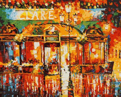 """Картина по номерам """"Туманное кафе"""" (400х500 мм) — фото, картинка"""