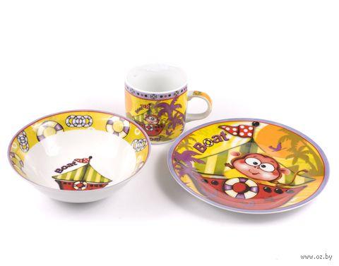 Набор для завтрака (3 предмета; арт. LX-3PCS-C133) — фото, картинка