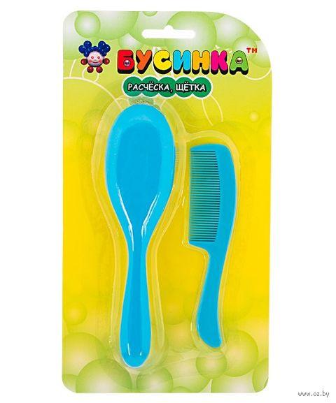 Набор для ухода за волосами детский (расческа мягкая, гребешок; арт. 1032) — фото, картинка