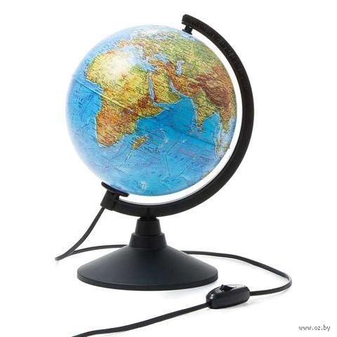 Глобус (физический; с подсветкой; 210 мм) — фото, картинка