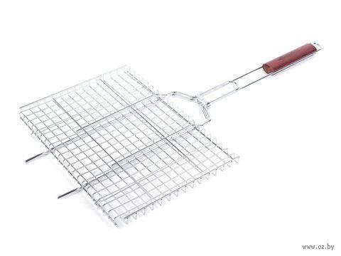 Решетка-гриль металлическая (26х35 см) — фото, картинка
