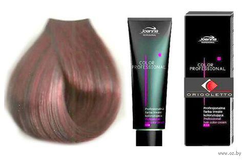 Краска для волос Joanna Color Professional (тон: 5.5, красный светло-коричневый)