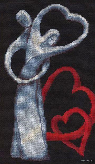 "Вышивка крестом ""Любовь"" (310х180 мм) — фото, картинка"