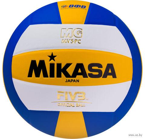 Мяч волейбольный Mikasa MV 5 PC №5 — фото, картинка