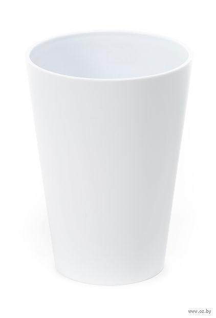 """Кашпо """"Lilia"""" (12,5 см; белое) — фото, картинка"""
