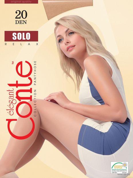 "Колготки женские классические ""Conte. Solo 20"" — фото, картинка"