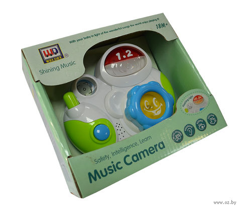 "Музыкальная игрушка ""Фотоаппарат"" (арт. I595588-WD3643)"