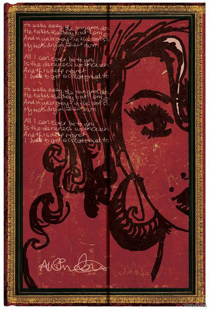 """Записная книжка Paperblanks """"Эми Уайнхаус. Слезы высыхают"""" (180х230 мм) — фото, картинка"""