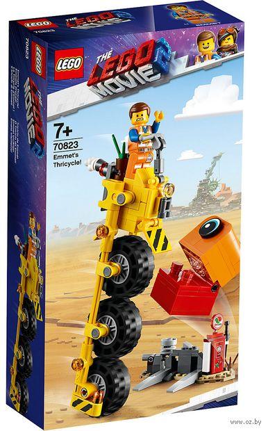 "LEGO The Lego Movie 2 ""Трехколёсный велосипед Эммета!"" — фото, картинка"