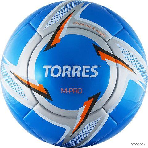 """Мяч футбольный Torres """"M-Pro Blue"""" №5 — фото, картинка"""