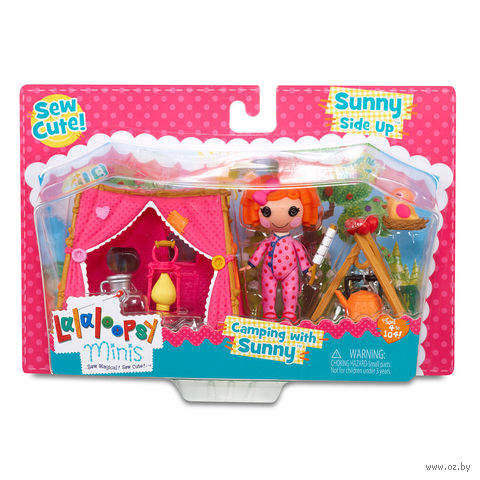 "Кукла ""Lalaloopsy Mini. Солнечный кемпинг"""