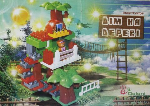"""Конструктор """"Дом на дереве"""" (43 детали) — фото, картинка"""