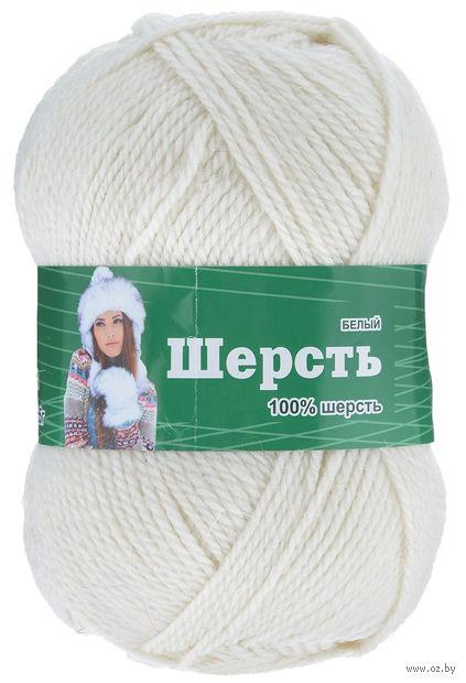 Астра. Wool (белый; 100 г; 200 м) — фото, картинка