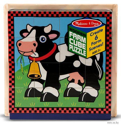 """Кубики """"Ферма"""" (16 шт.) — фото, картинка"""