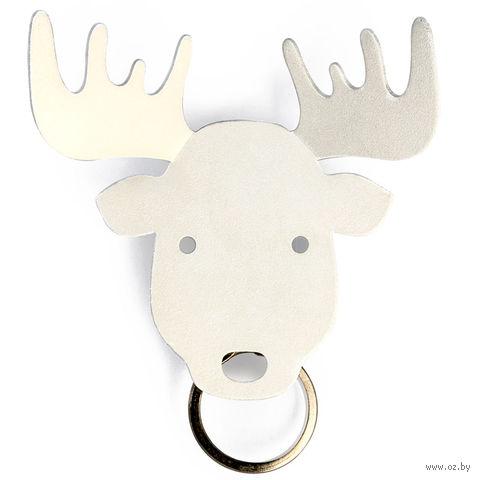 """Держатель для ключей и аксессуаров """"Moose"""" (белый)"""