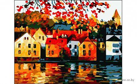 """Картина по номерам """"Осенний пейзаж"""" (400x500 мм) — фото, картинка"""