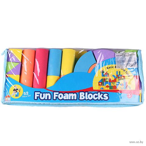 """Мягкий конструктор """"Fun Foam Blocks"""" (52 детали; арт. DV-T-275) — фото, картинка"""