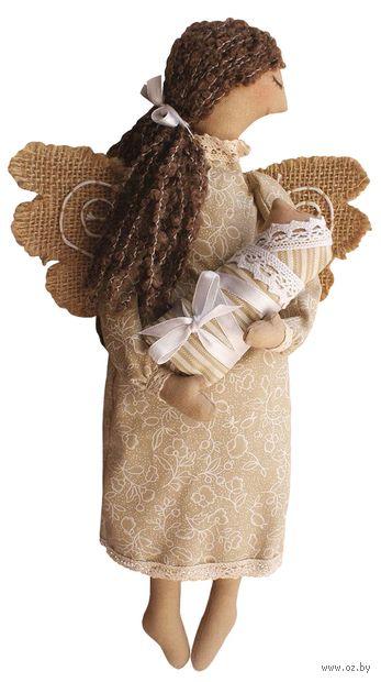 """Набор для шитья из ткани """"Ангел с младенцем"""" — фото, картинка"""