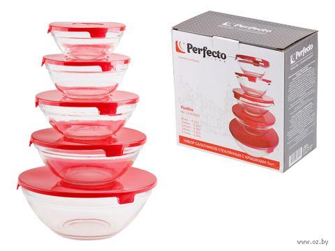 """Набор контейнеров для продуктов """"Positivo"""" (5 шт.) — фото, картинка"""