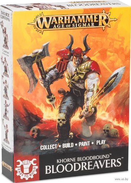 Warhammer Age of Sigmar. Blades of Khorne. Bloodreavers. Easy to Build (71-04) — фото, картинка