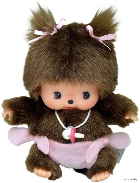 """Мягкая игрушка """"Девочка в подгузнике"""" (15 см) — фото, картинка"""