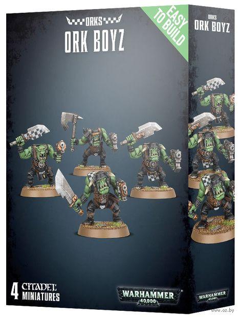 Warhammer 40.000. Orks. Ork Boyz. Easy To Build (35-27) — фото, картинка