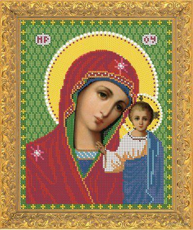 """Вышивка бисером """"Пресвятая Богородица Казанская"""" (арт. 7319)"""
