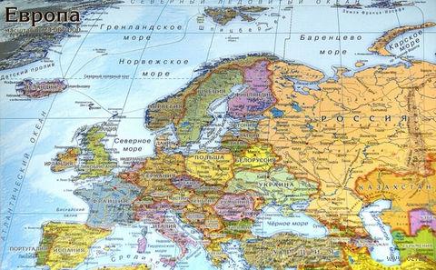 """Пазл """"Карта Европы"""" (49 элементов) — фото, картинка"""