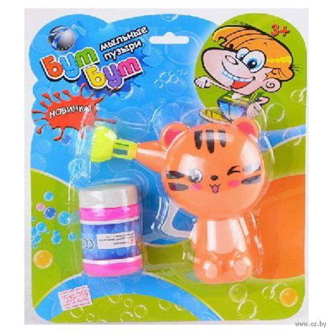 """Игрушка для выдувания мыльных пузырей """"Котик"""""""