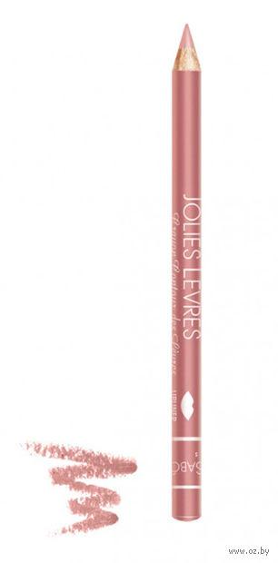 """Карандаш для губ """"Jolies Levres"""" (тон: 108, пастельно-розовый) — фото, картинка"""