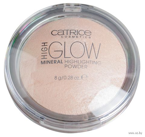 "Пудра-хайлайтер для лица ""High Glow Mineral"" (тон: 10) — фото, картинка"