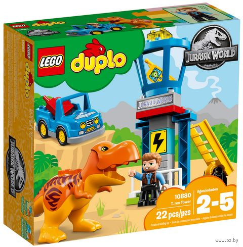 "LEGO Duplo ""Башня Ти-Рекса"" — фото, картинка"